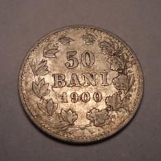 50 bani 1900 Detalii Frumoaase - Moneda Romania