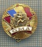 "ZET 679 INSIGNA SPORTIVA - ,,GMA"" -GATA PENTRU MUNCA SI APARARE"