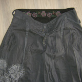 pantaloni DESIGUAL originali harem de vara, marimea L, 42 spaniol