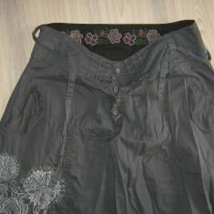 Pantaloni DESIGUAL originali harem de vara, marimea L, 42 spaniol - Pantaloni dama, Marime: L, Culoare: Din imagine