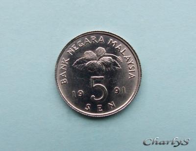 MALAEZIA  -  5 Sen 1991 foto