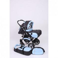 Carucior baby merc junior - Carucior copii 2 in 1 Baby-Merc, Albastru