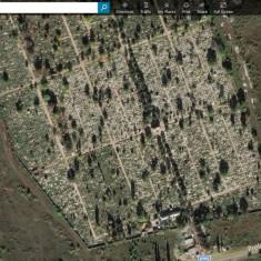 Cimitir Domnesti Ghencea 2, loc de veci neamenajat, nefolosit