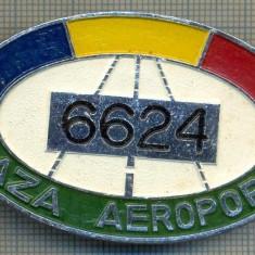 ZET 637 INSIGNA TEMATICA AVIATIE -,, PAZA AEROPORT - 6624