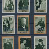Fujeira 1969 15 Euro personalitati D. Eisenhower -serie nedantelata nestamp. MNH - Timbre straine, Nestampilat