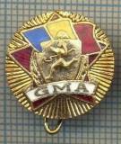 "ZET 677 INSIGNA SPORTIVA - ,,GMA"" -GATA PENTRU MUNCA SI APARARE"