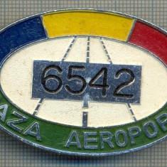 ZET 643 INSIGNA TEMATICA AVIATIE -,, PAZA AEROPORT - 6542