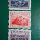 Luxemburg 1921 55 Euro vederi castele peisaje - serie nestampilata MH