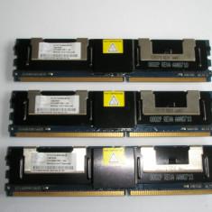 Memorie ram server fbdimm NANYA 1Gb PC2-5300F DDR2-667MHz ECC Fully Buffered - Memorie server Alta