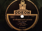 WEISS FERDL - HINTERHUGLDORF(ODEON/GERMANY) - DISC PATEFON/GRAMOFON/Stare F.Buna, Alte tipuri suport muzica