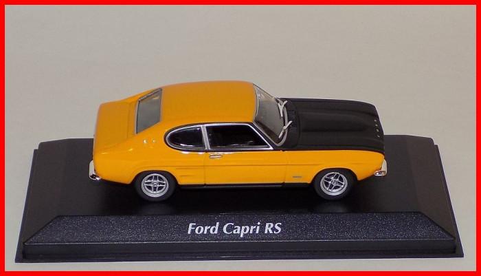 1969 - FORD CAPRI I RS (scara 1/43) MAXICHAMPS