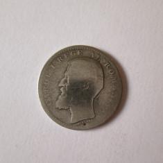 Moneda argint 50 Bani 1894 stearsa - Moneda Romania