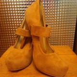 Pantofi piele intoarsa - Pantofi barbat