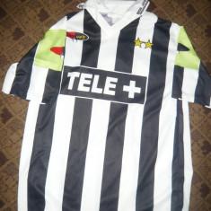 Tricou al Echipei Fotbal Juventus Torino - Jucator nr 17 Trezeguet, masura XL - Tricou echipa fotbal, Culoare: Alb