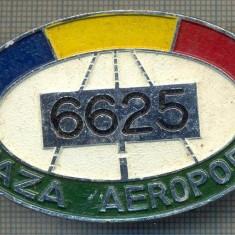 ZET 638 INSIGNA TEMATICA AVIATIE -,, PAZA AEROPORT - 6625