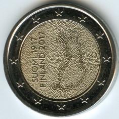 moneda 2 euro comemorativa FINLANDA 2017, UNC