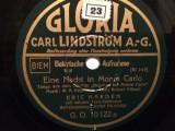 TANGO from film BOMBER OF..(GLORIA/GERMANY) - DISC PATEFON/GRAMOFON/Stare F.Buna, Alte tipuri suport muzica