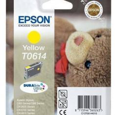 Consumabil Epson Cartus T0614 Yellow - Cartus imprimanta