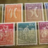 GERMANIA (REICH) 1921 – CIFRE, MESERII, timbre cu SARNIERA, AM49, Nestampilat
