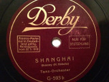 LUCKY HOURS/SHANGHAI (1910/DERBY/GERMANY) - DISC PATEFON/GRAMOFON/Stare F.Buna, Alte tipuri suport muzica