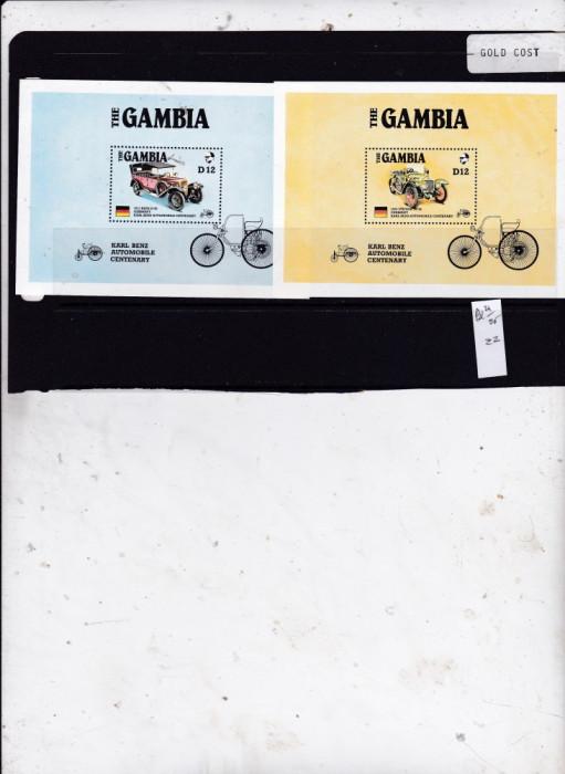 Gambia   blocuri 24 - 25 foto mare