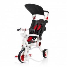 Tricicleta Pliabila Evolutiva Copii 10-36 Luni Galileo Red