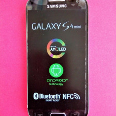 Telefon mobil Samsung I9195 Galaxy S4 Mini, 8GB, Black Edition, neblocat - Telefon mobil Samsung Galaxy S4 Mini, Negru, Single SIM, 2G & 3G