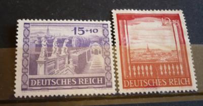 GERMANIA (REICH) 1941 ? VEDERI DIN VIENA,  serie FARA GUMA, AM60 foto