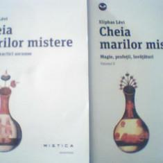 Eliphas Levi - CHEIA MARILOR MISTERE { 2 volume } / Nemira, 2014 - Carte ezoterism