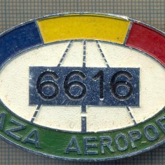 ZET 641 INSIGNA TEMATICA AVIATIE -,, PAZA AEROPORT - 6616