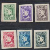 Ferdinand set complet 6 eseuri model neemis 1926 stare foarte buna - Timbre Romania, Regi, Nestampilat