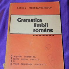 Gramatica limbii romane notiuni si teste Silviu Constantinescu 1994 (f0899 - Carte Teste Nationale