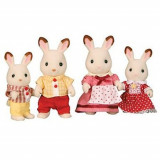 Jucarie Sylvanian Families Chocolate Rabbit Family