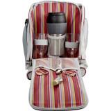 Set rucsac de picnic pentru 2 persoane + accesorii, Multicolor