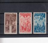 ROMANIA  1943 , LP 154 I    CONSILIUL DE PATRONAJ SERIE   MNH, Nestampilat