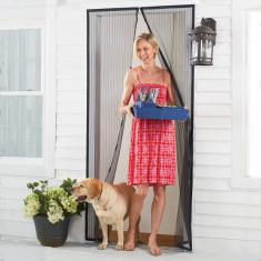 Plasa anti-tantari cu magnet pentru usa, 210 X 100 cm, Garden Pleasure, 79855