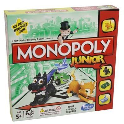 Joc Monopoly Junior Board Game foto mare