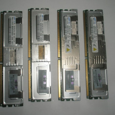 Memorie ram server workstation Samsung 2GB FBDIMM 2Rx4 PC2-5300F DDR2 ECC 667Mhz - Memorie server
