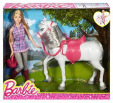 Papusa Barbie Horse And Doll, Mattel