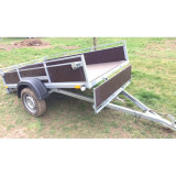 Remorci/Remorca 2.4 m x 1, 25/1.35 m, sarcina maxima 750 kg - Utilitare auto