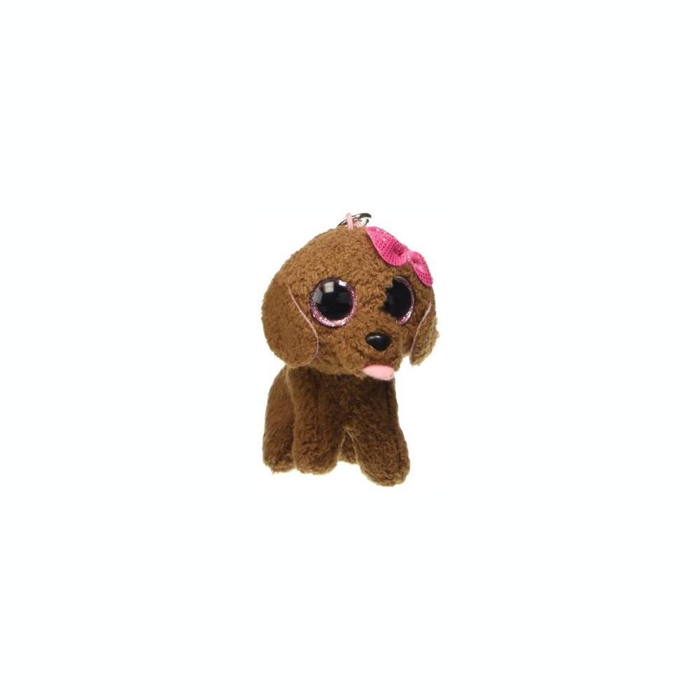 e5e1a80634f Breloc Ty Beanie Boo Maddie The Brown Dog foto. Mărește imagine