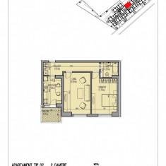 Apartament 2 camere decomandat Mihai Bravu - Apartament de vanzare, 61 mp, Numar camere: 2, An constructie: 2018, Etajul 2