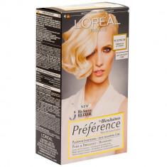 Vopsea de par L'Oreal Preference blond Platinum, 71864, Permanenta