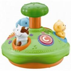 Jucarie Bebelusi Winfun Spinner Cu Animalute Si Melodii - Jucarie zornaitoare