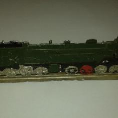 MACHETA LOCOMOTIVA DIN PLUMB PLATA - Macheta Feroviara, Z, Locomotive