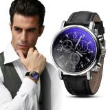 Ceas de mana NOU, negru, 100% original piele elegant barbatecc - Ceas barbatesc Diesel, Quartz