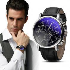 Ceas de mana NOU, negru, 100% original piele elegant barbatecc Diesel