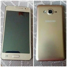 Samsung Galaxy Grand Prime Gold impecabil - Telefon Samsung, Alb, Neblocat, Single SIM