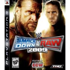 Wwe Smackdown Vs Raw 2009 Ps3 - Jocuri PS3 Thq