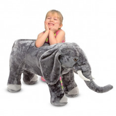 Elefant Din Plus - Jucarii plus Melissa & Doug